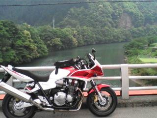 揖斐峡へツーリング