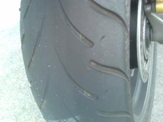 タイヤの慣らしツーリング